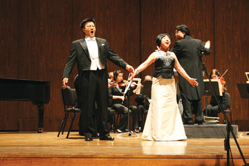 "... La Traviata"" at Meany Hall at the University of Washington in 2008"