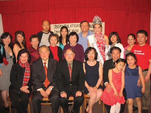 Miss Chinatown San Francisco 2011. Miss Chinatown USA, Crystal