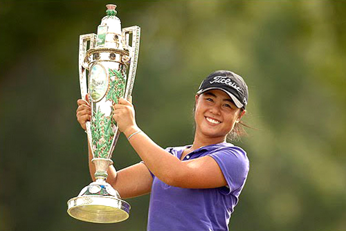 ... in 15 years to successfully defend the U.S. Women's Amateur title, ...