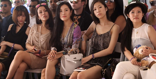 rich asian women