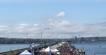 Thousands jam SR 520 Bridge grand opening