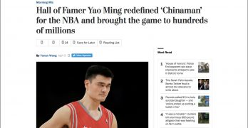 """EDITORIAL: Let's retire """"Chinaman"""""""