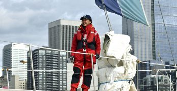 Amazing amateurs sail around the world in yacht race