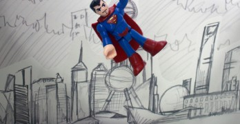 It's a bird, it's a plane, it's … Asian Superman?