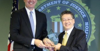 FBI director honors Alan Lai