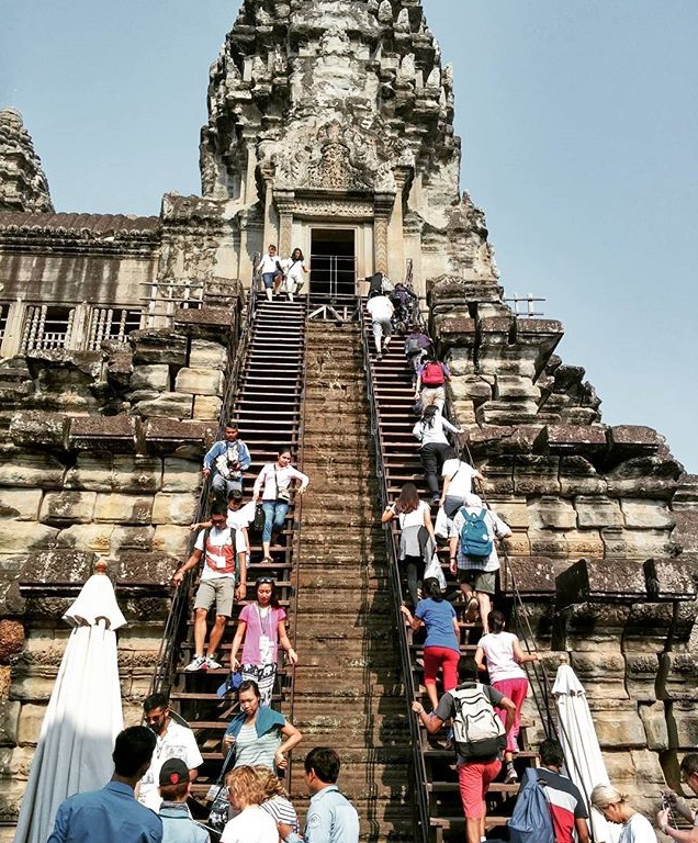 Angkor Wat temple (Photo by Huyen To)
