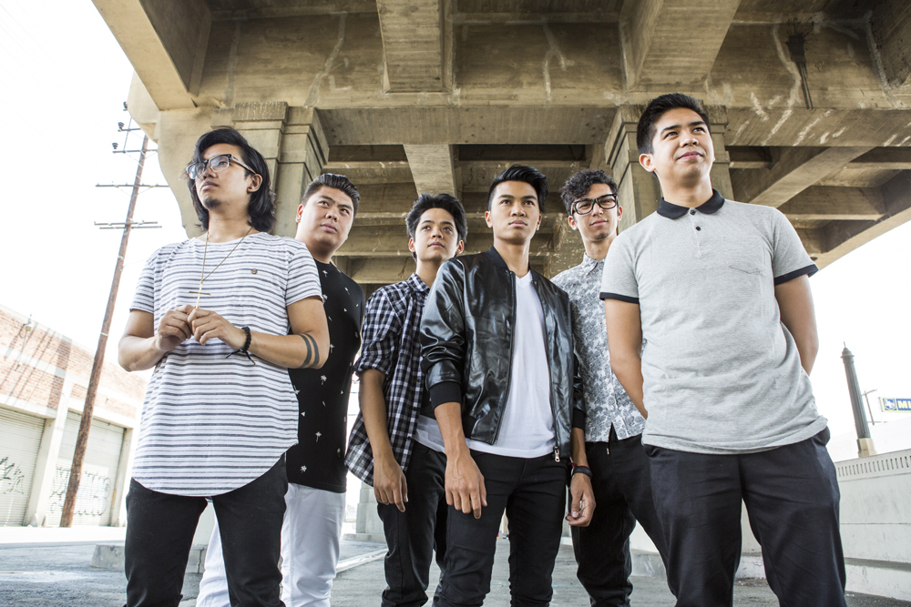 From left: Niko Del Rey, Joe Caigoy, Trace Gaynor, VJ Rosales, Barry Fortgang, and Jules Cruz. (Photo by Jordan Abrantes)