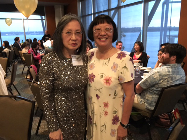 From left: Dorothy Wong, Executive director and Mary Hsu, President. (Photo by John Liu/NWAW)