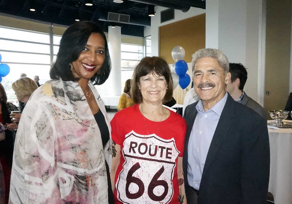 with Carmen and Carver Gayton