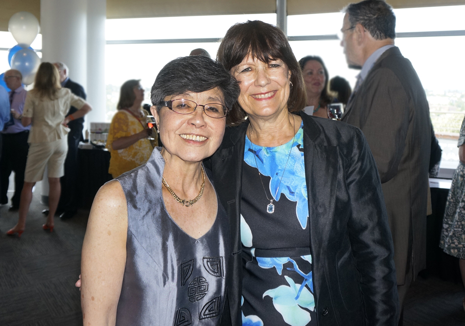 with Evelyn Yenson