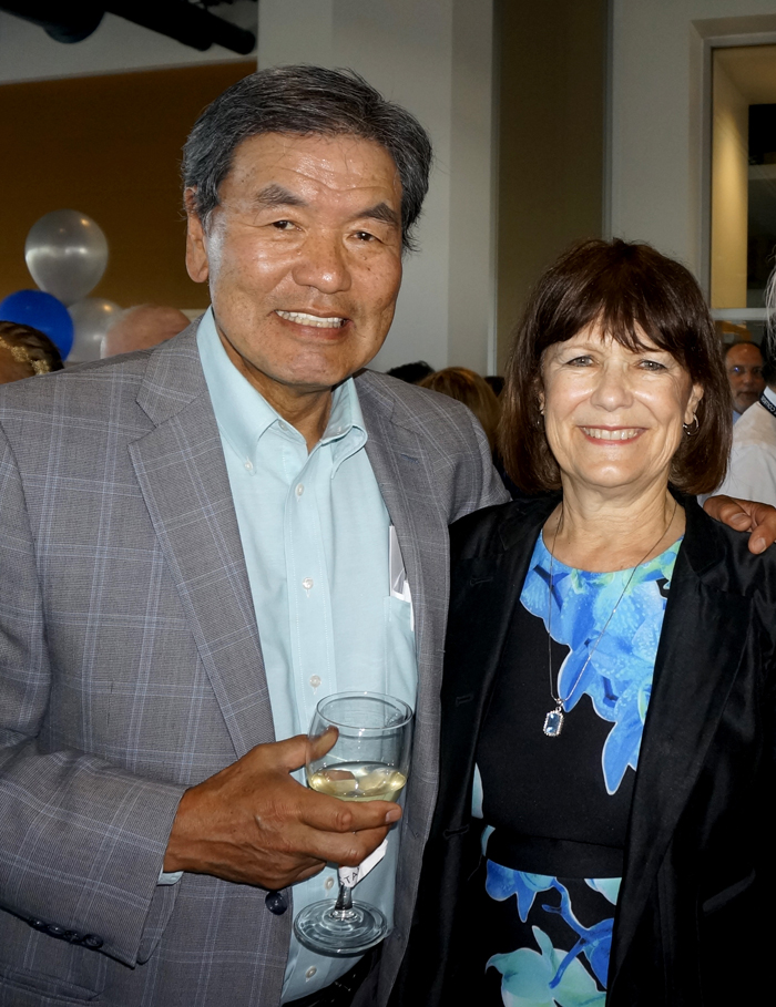 with Tay Yoshitani, owner of Hurry Curry Restaurant