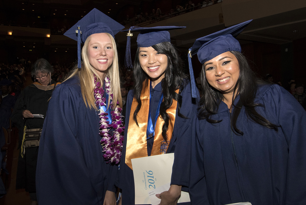 Seattle Central College graduates celebrated at Benaroya Hall on Saturday, June 18. (Photo provided by North Seattle College)