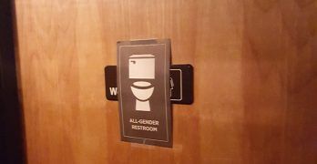 """""""Excuse me while I go to the unisex room…"""" — Are ID businesses complying with the all-gender bathroom signage ordinance?"""