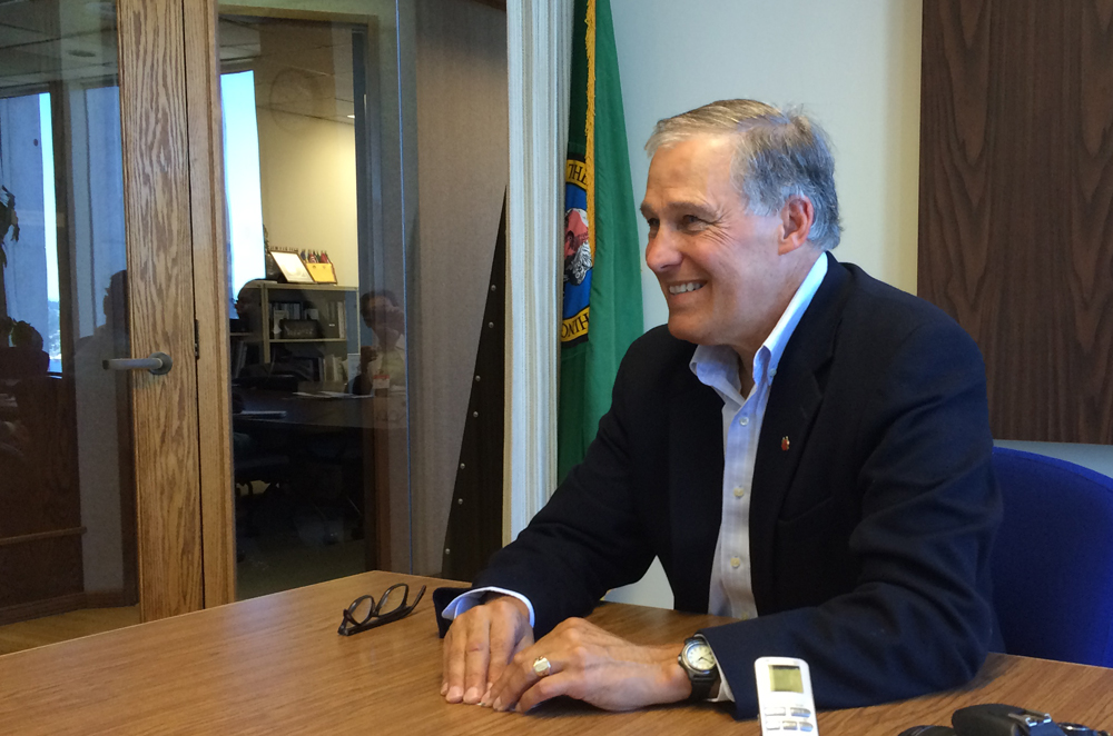 Gov. Jay Inslee (Photo by Assunta Ng/NWAW)