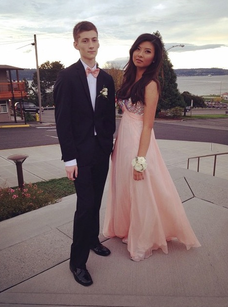 Allen Ivanov and Anna Bui (Prom 2014) (Photo from Instagram)