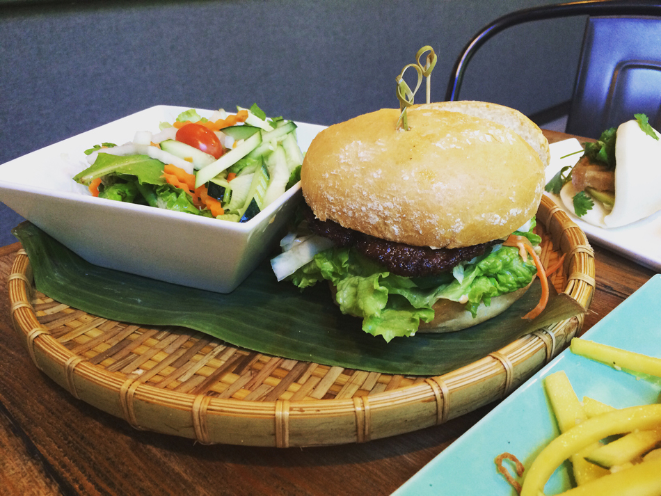 Banh Mi burger (Photo by Assunta Ng/NWAW)