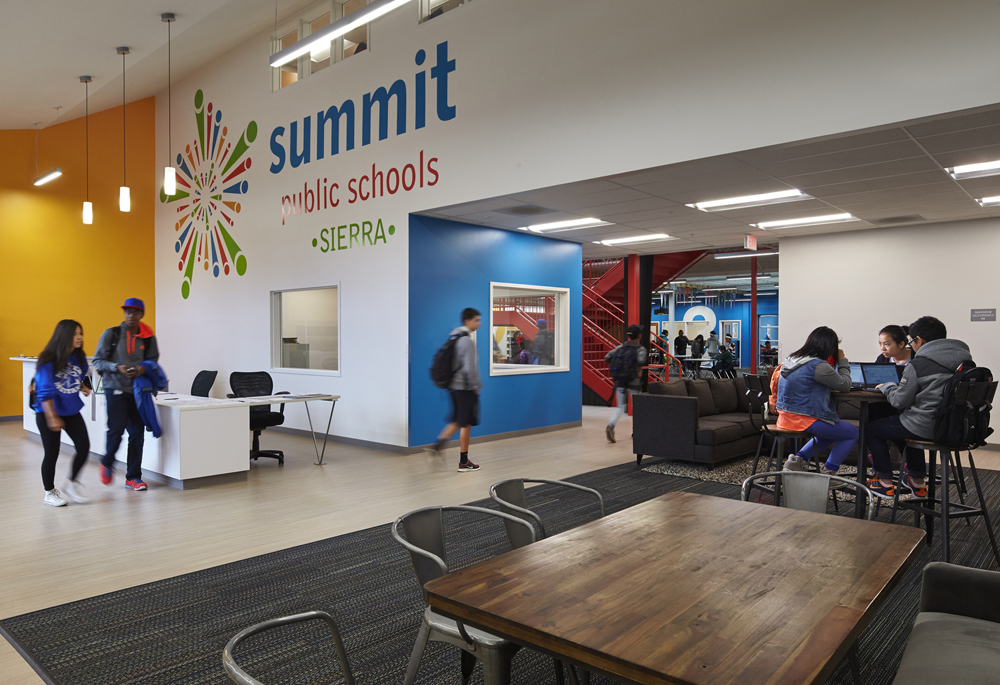 Summit Sierra High School in the International District. (Photo from Summit Sierra High School website)