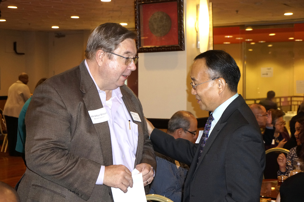 King County Assessor John Wilson and Dr. Shouan Pan