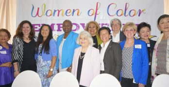 The rousing end of a chapter for empowerment luncheon series