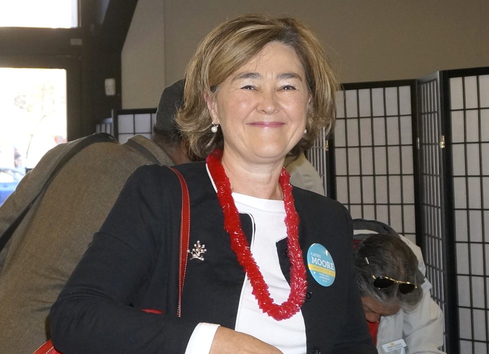 CATHY MOORE, Candidate for Superior Court, Judge Position 44