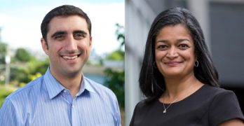 Jayapal and Walkinshaw: Progressive Democrats battle for a seat in Congress