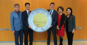 Timothy Hsia wins Royal Canadian Mint competition