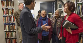 Attorney General Bob Ferguson visits Wing Luke Civil Rights Unit