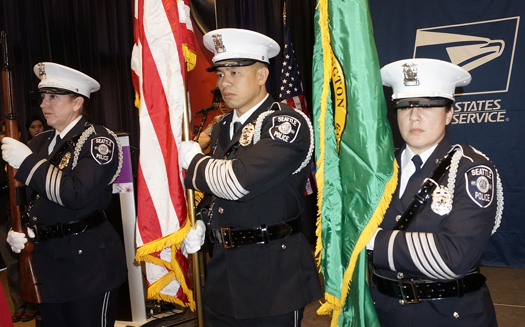 Seattle Police Department Honor Guard