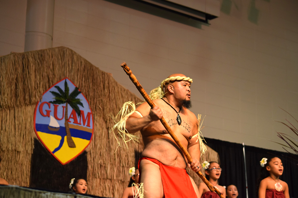 Tale of a fierce warrior through Chamorro dance and spear.