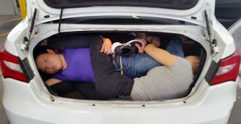 Man arrested for trying to smuggle Chinese nationals inside car trunk