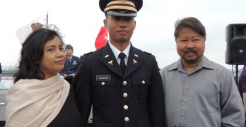 Nadong commissioned to Army