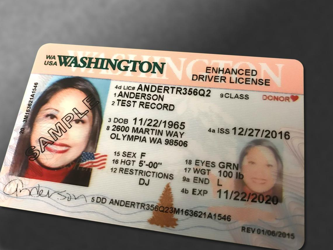 Real Extension Washington Id Granted Mid-july Through