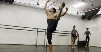 Teenage boy from Mumbai slum dances way to NY ballet school