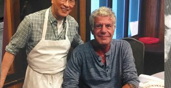 Anthony Bourdain eats at Tai Tung