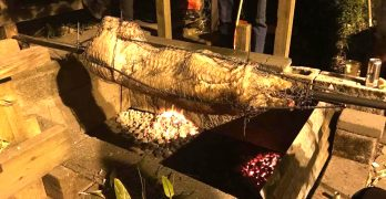 Danny Woo Garden holds its 42nd annual pig roast