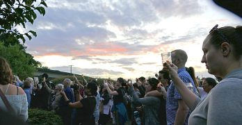 Vigil for Charlottesville at Chinese Reconciliation Park