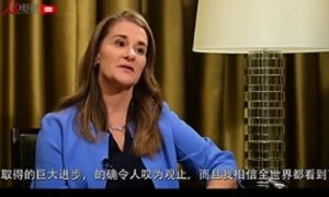 Melinda Gates praises China in poverty reduction, and commits millions more in joint work