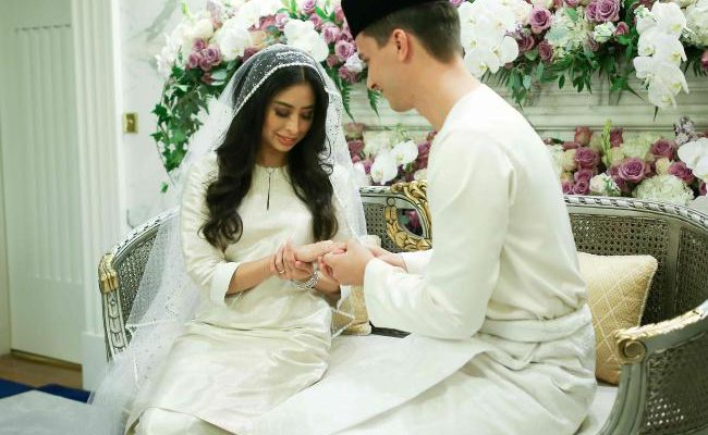 Malaysian princess marries Dutchman