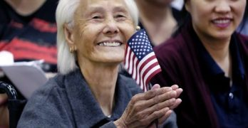 103-year-old woman from Cambodia becomes U.S. citizen