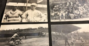 Discovered box reveals grandfather's baseball past