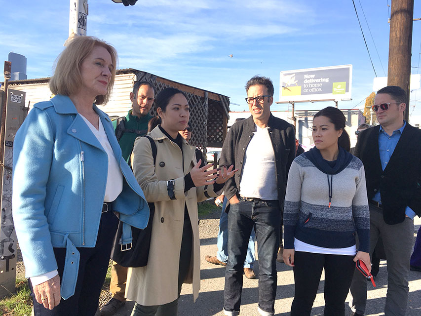 Mayoral candidates tour Little Saigon