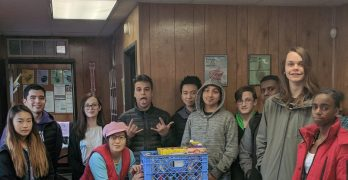 Summit Sierra High School student club gives to ARCS food bank