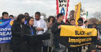 Black and AAPI immigrant advocates lead day of action in nation's capitol