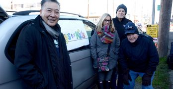 Annual Costco chicken and toy drive