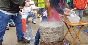 29th annual Mochi Tsuki on Bainbridge Island