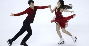 Olympic bronze medalists Shibutanis skipping worlds