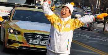 50 years later, Olympian heads home to carry torch for South Korea