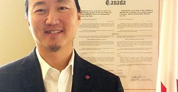 Canada's Consul General Lee skillfully navigates international waters